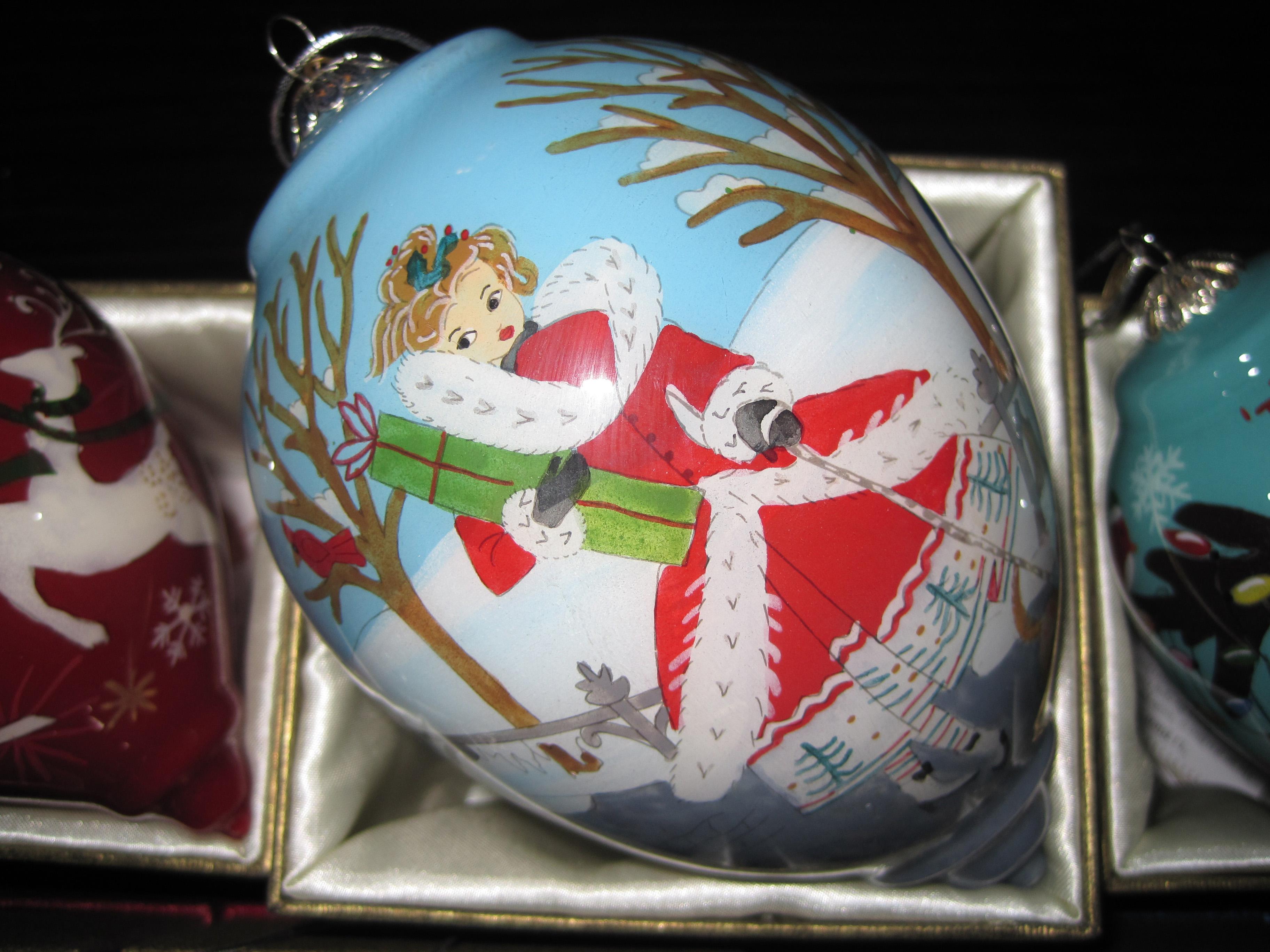 pier 1 li bien christmas girl ornament 2014